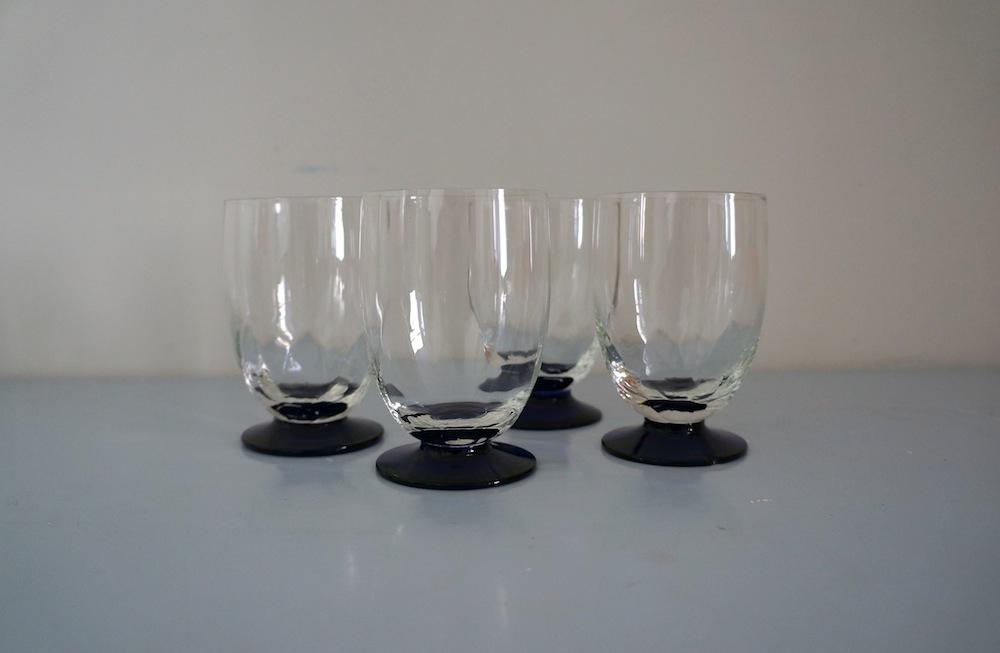 Ouderwetse glazen