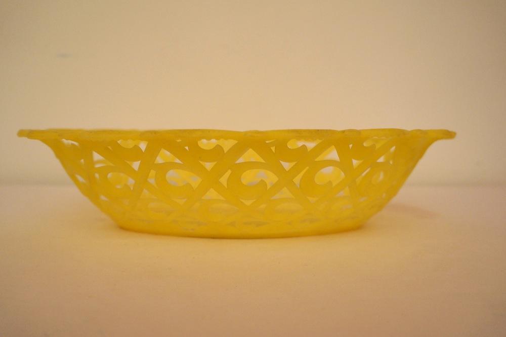 Plastic broodmandje 30 x 21 x 7 cm