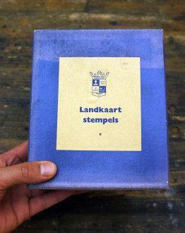 School Landkaartstempel engeland