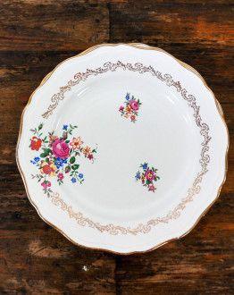 256 Set van 6 platte borden van l'Amandinoise 1