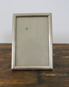Zilverkleurig fotolijstje voorkant