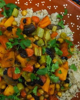 Couscous met wintergroenten