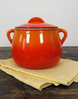 le creuset oranje fonduepot