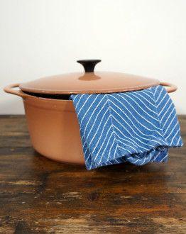 Roze bruine cousances pan