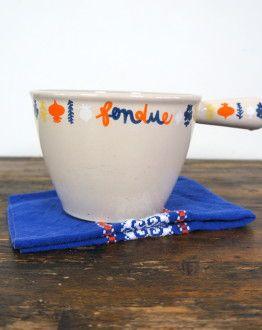 Limited edition Le Creuset 'fondue' zij