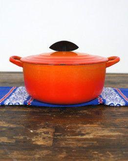 Oranje Le Creuset casserole maat C