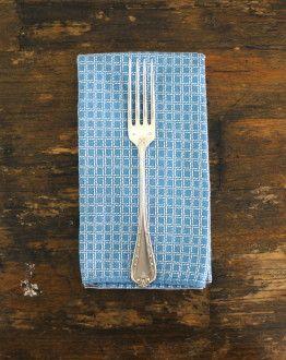 set van 12 verzilverde vorken in zwarte casette servet