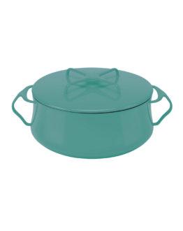 Dansk® Kobenstyle casserole turquoise 6-quart