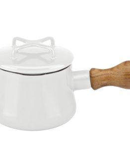 Dansk® Kobenstyle witte butterwarmer met deksel